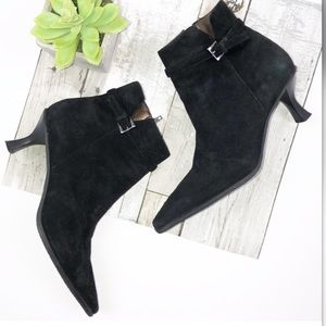Antonio Melani Sz 7 black booties